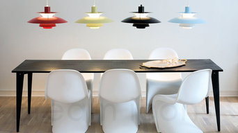 Louis Poulsen PH5 and PH50 pendant lights at Dream Icons