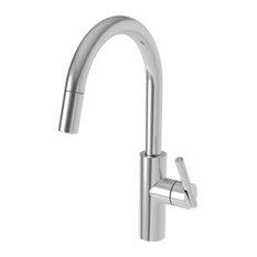 Newport Brass 1500-5113 East Linear High-Arc Pullout Spray - Chrome