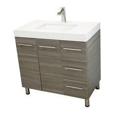 50 36-Inch Bathroom Vanities You'll Love in 2020   Houzz