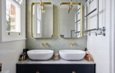 Room Tour: A Clever Bathroom Rejig Squeezes in a Walk-in Shower