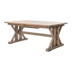"Reclaimed Wood Extension Dining Table (72""-96"")"