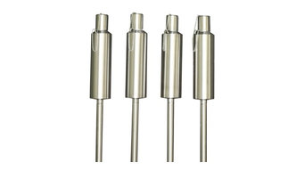 """Stainless Steel Torches 60"""", Set of 4"""