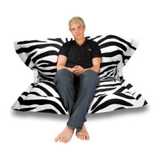 Sol Pillow Indoor/Outdoor Anywhere Chair, Zebra