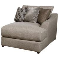 Acme Petillia Modular Rf Chaise With Sandstone Fabric Finish 55847