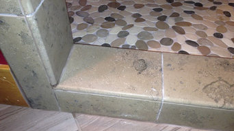 Limestone Custom Shower