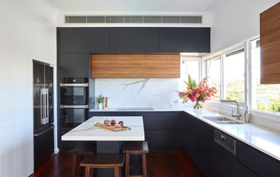 Before & After: A Frumpy Kitchen Reborn as a Contemporary Space