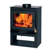 Summers Heat Non-Catalytic Wood Burning Stove, 800-1.200 sq. ft.