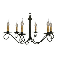 katieu0027s handcrafted lighting llc adams wrought iron chandelier by katieu0027s black chandeliers - Wrought Iron Chandelier