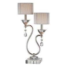 Krystal Crystal Table   Lamp