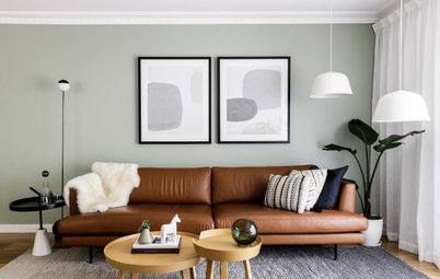 Before & After: From Dark-Cluttered to Calm-Nordic Living Area