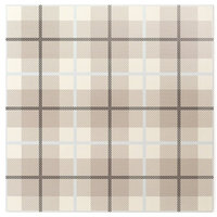 Plaid Ivory 24x24 Porcelain Tile Sample