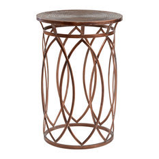 InnerSpace Luxury Products   Marquise Side Table   Side Tables And End  Tables