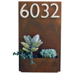 Contemporary House Numbers by Urban Mettle