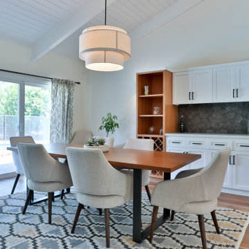 Woodland Hills Kitchen Remodel - Custom Cabinets throughout
