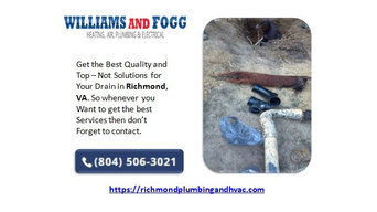 Get the Best Richmond VA Plumbers for Drain and Water Heater