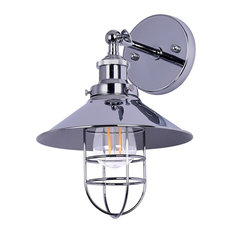 Marazzo Wall Sconce, Chrome