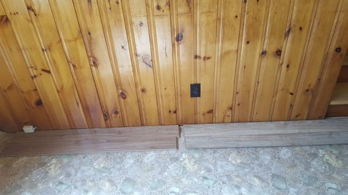 Need Help What Flooring Goes With Old Knotty Pine Walls
