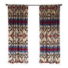 Blue River Southwestern Curtain Panels, Set of 2