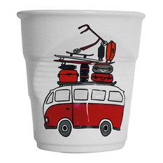 Assiettes et compagnie - Crumpled Kitchen Utensils Pot, Beach - Utensil Holders and Jars