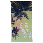 Oh Hello - Oh Hello, Endless Summer Print, Beach Towel, 32x62 - Oh Hello - Endless Summer Beach Towel 32x62