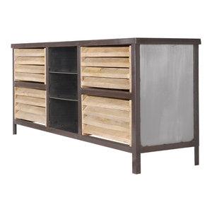 Williamsburg Steel TV Stand/Sideboard