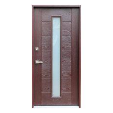 Top contemporary front doors deals houzz for Best deals on front doors