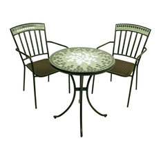 Berwick Bistro Table and Chairs, 3-Piece Set