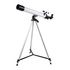 50Mm Kids Beginners Astronomical Refractor Telescope Refractive Eyepieces Tripod