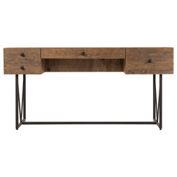 Industrial Desks And Hutches by Homesquare