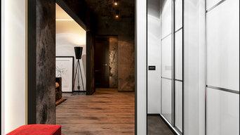 Дизайн прихожей в трехкомнатной квартире в Москве