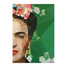 East End Prints - Frida Framed Fine Art Print, 48x65 cm - Prints & Posters