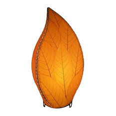 Eangee Home Design Cocoa Leaf Orange Leaflet Lamp