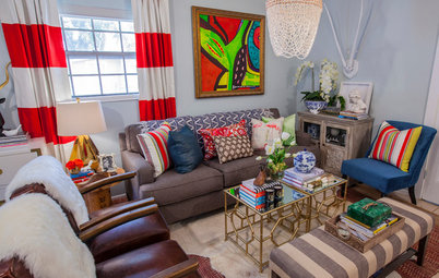 Room of the Day: 1 Room With 4 Functions in a Texas Apartment