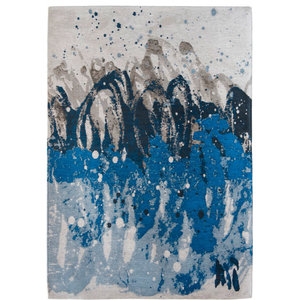 Atlantic Ocean 8486 Rug, Blue Waves, 140x200 cm