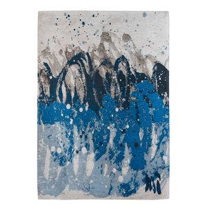 Atlantic Ocean 8486 Rug, Blue Waves, 230x330 cm