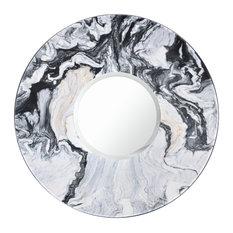 Marquina Mirror, Black Marble, 70x70 cm