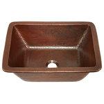 """Sinkology - Hawking 17"""" Dual Mount Handmade Copper Bath Sink - BRAND: Sinkology"""