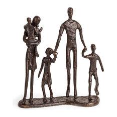Danya B Family of 5 Bronze Sculpture