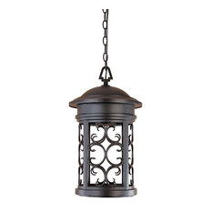 designers fountain designers fountain 31134orb outdoor hanging light in oil rubbed bronze