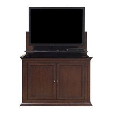 Touchstone Harrison Espresso TV Lift Cabinet For 46-inch Flat Screens