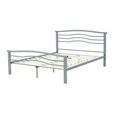 Watertown Metal Platform Bed, Queen