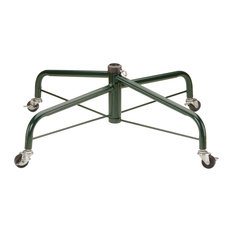 """32"""" Folding Tree Stand With Rolling Wheels for 9'-10' Trees Fits 1.25"""" Pole"""