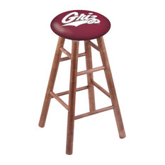 Maple Counter Stool Medium Finish With Montana Seat 24-inch