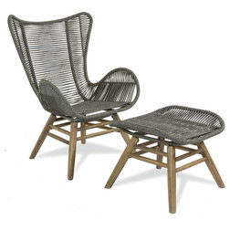 Beach Style Outdoor Lounge Chairs by Seasonal Living Trading LTD