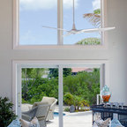 Interior Of Sunroom Addition Tropical Living Room