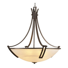 PLC LIGHTING 5 Light Chandelier Highland Collection 14866 ORB