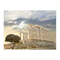 Acropolis of Athens Wallpaper Mural, 350x270 cm