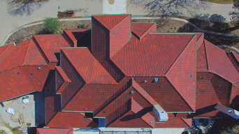 Synthetic Spanish Barrel Roof - Brava Roof Tile