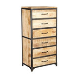 Cosmo 6-Drawer Tall Chest