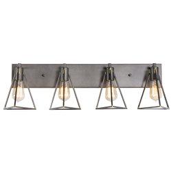 Industrial Bathroom Vanity Lighting by Varaluz